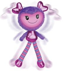 Spin Master Brightlings interaktivní panenka – fialová