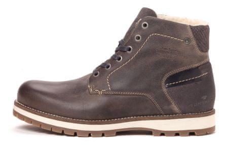 Tom Tailor buty za kostkę męskie 42 ciemny brąz