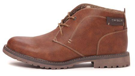 Tom Tailor pánská kotníčková obuv 46 hnědá
