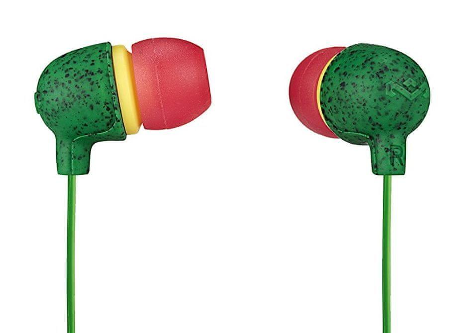 MARLEY Little Bird - Rasta sluchátka s mikrofonem