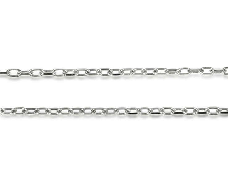Troli Stříbrný řetízek 42 cm stříbro 925/1000