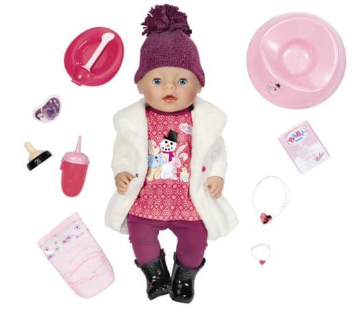 BABY born Interaktivní zimní BABY born