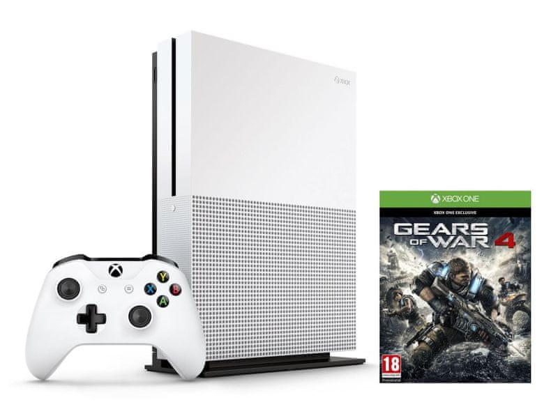 Microsoft Xbox One S 1TB + Gears of War 4