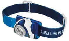 LEDLENSER čelna svetilka SEO7R, modra