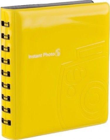 FujiFilm Instax Mini fotoalbum Yellow