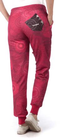 Desigual dámské tepláky XS červená  c65a9d8407b