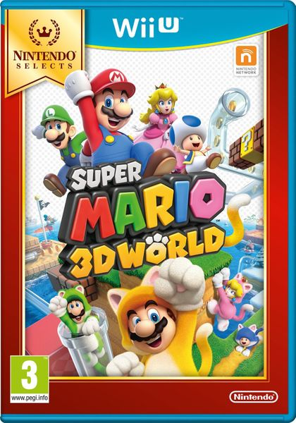 Nintendo Super Mario 3D World Select / WiiU