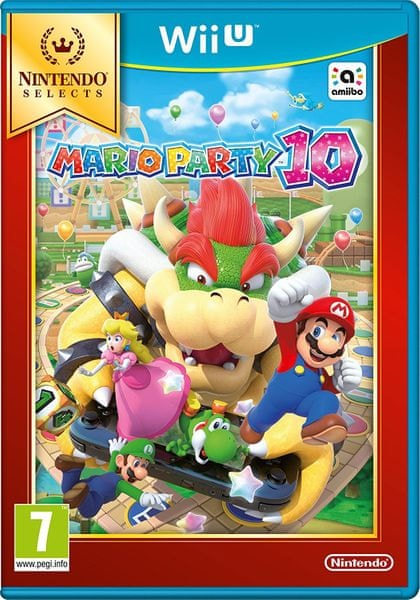 Nintendo Mario Party 10 Select / WiiU