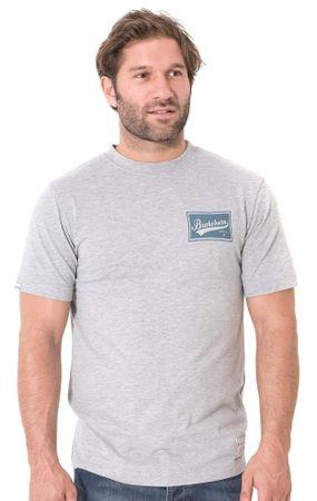 Brakeburn pánské tričko M sivá