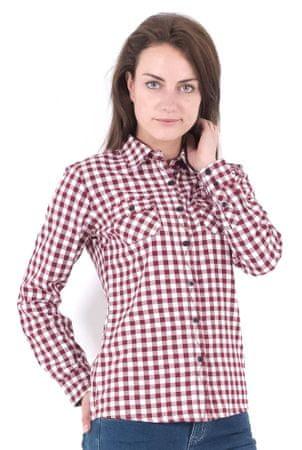 Brakeburn ženska srajca XS bordo rdeča