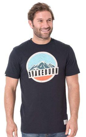 Brakeburn moška majica L temno modra