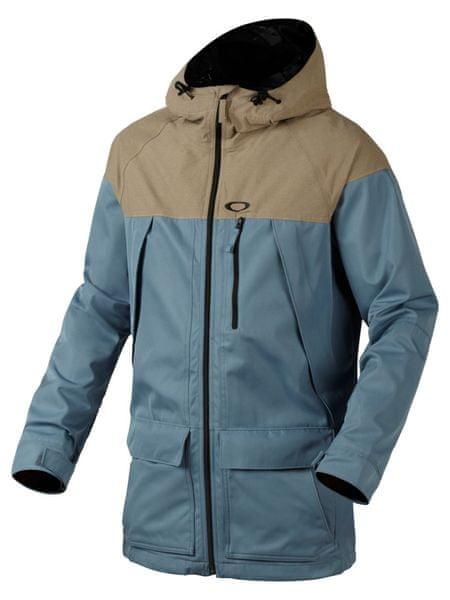 Oakley Silver Fox Bzs Jacket Blue Mirage S