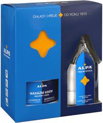 ALPA Francovka francovka 160 ml + masážní krém 250 ml Kosmetická sada