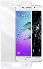 CellularLine ochranné tvrzené sklo CAPSULE, Galaxy A3 (2016), bílé