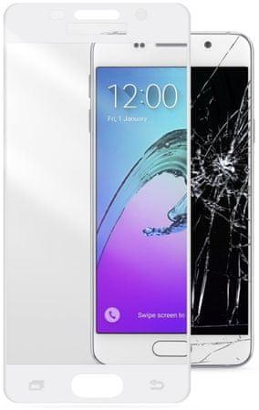 CellularLine zaščitno steklo Capsule za Samsung Galaxy A3 (2016), belo