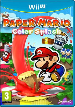 Nintendo Paper Mario: Color Splash / WiiU videojáték