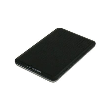 """LC Power zunanje ohišje za trdi disk, 6,35 cm (2,5""""), USB 3.0"""