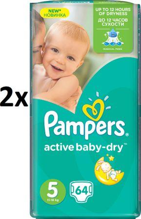 Pampers plenice Active Baby 5 Junior (11-18kg)