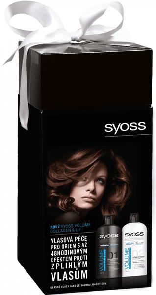 Syoss Volume Šampon 500 ml + Kondicionér 500 ml Dárková sada
