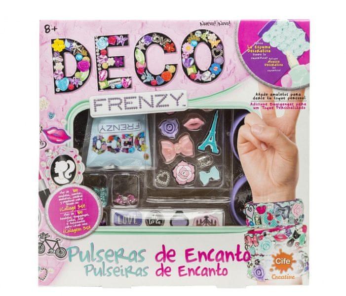 Alltoys Deco Frenzy kreativní set - Náramky