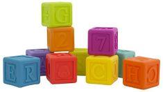 Playgro kocke s črkami in številkami
