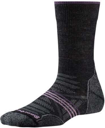 SmartWool W Phd Outdoor Light Crew charcoal S