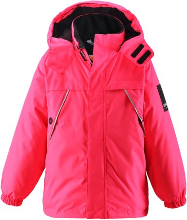 Lassie otroška jakna Lassietec Jacket Neon Raspberry, roza, 098