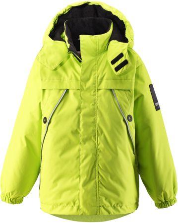 Lassie Kurtka dziecięca Lassietec Jacket Yellow Lime 116