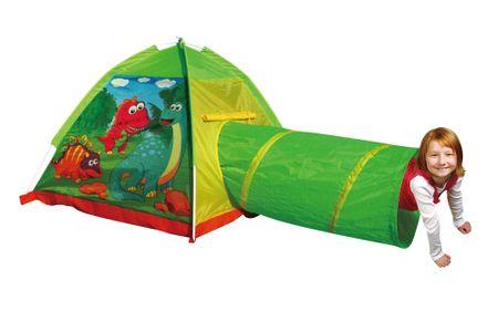 Unikatoy šotor iglu + tunel dinosaur