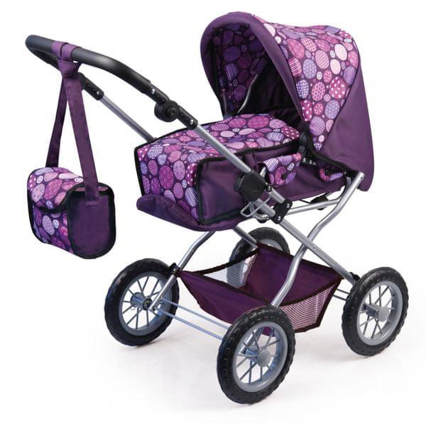 Bayer Design Combi Grande kočárek pro panenky fialová