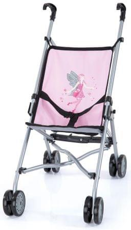 Bayer Design voziček za punčke Buggy, svetlo roza