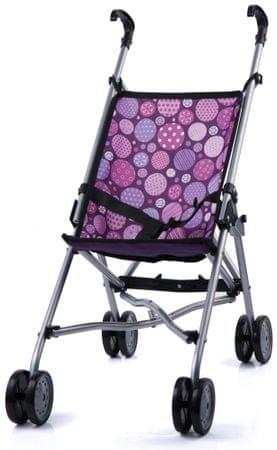 Bayer Design voziček za punčke Buggy, roza-vijoličen