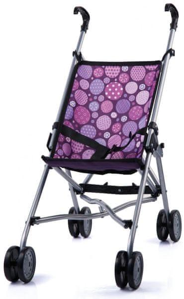 Bayer Design Golfový kočárek Buggy, růžová/fialová