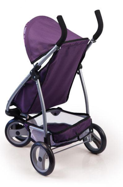 Bayer Design Jogger kočárek pro panenky fialová