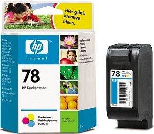HP náplň č.78, barevná (C6578DE)