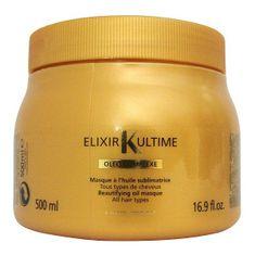 Kérastase maska upiększająca Elixir Ultime Masque Oleo-Complex do wszystkich rodzajów włosów 500 ml