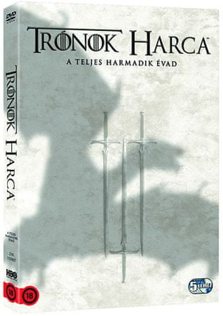 Trónok harca: 3. évad DVD