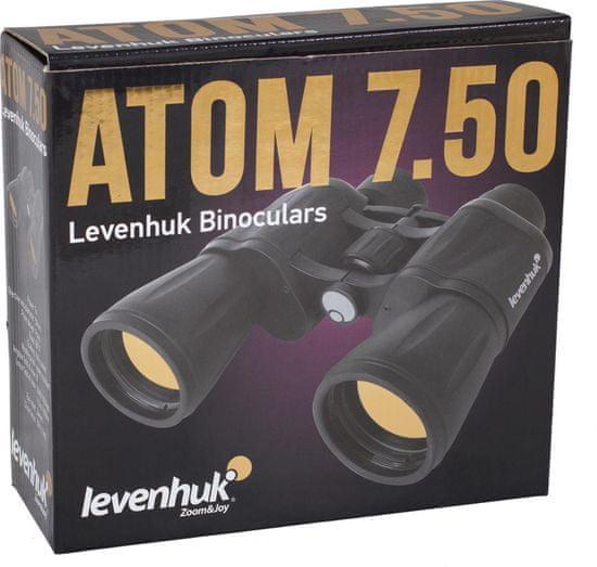 Levenhuk távcső 7x50 Atom