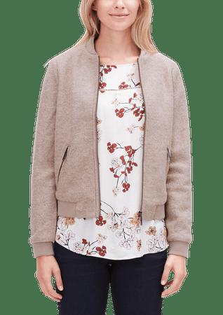 s.Oliver bluza damska 36 brązowy