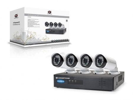 Conceptronic 4 kanalni IP video nadzor