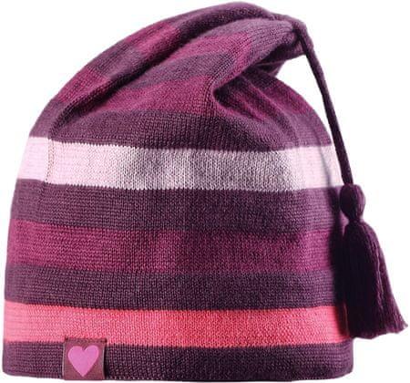 Lassie Dziewczęca czapka Beanie Dark Purple L