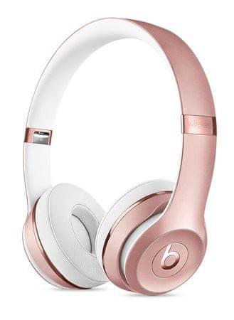 Beats slušalke Solo3 Wireless, rožnato zlate