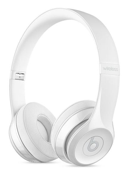 Beats Solo3 Wireless, leskle bílá (MNEP2ZM/A)