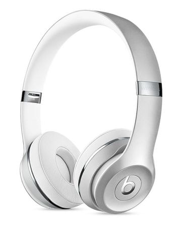 Beats slušalke Solo3 Wireless, srebrne