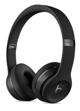 Beats slušalke Solo3 Wireless, črne