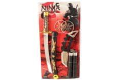 Unikatoy set ninja orožji