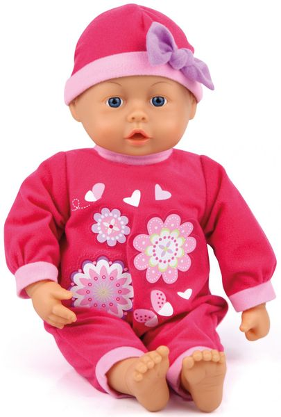 Bayer Design First Words Baby panenka červená, 38 cm