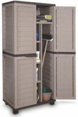 Fieldmann FDD 1005B Műanyag kerti tárolószekrény