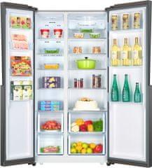 HAIER HRF 521DM6 Amerikai hűtőszekrény