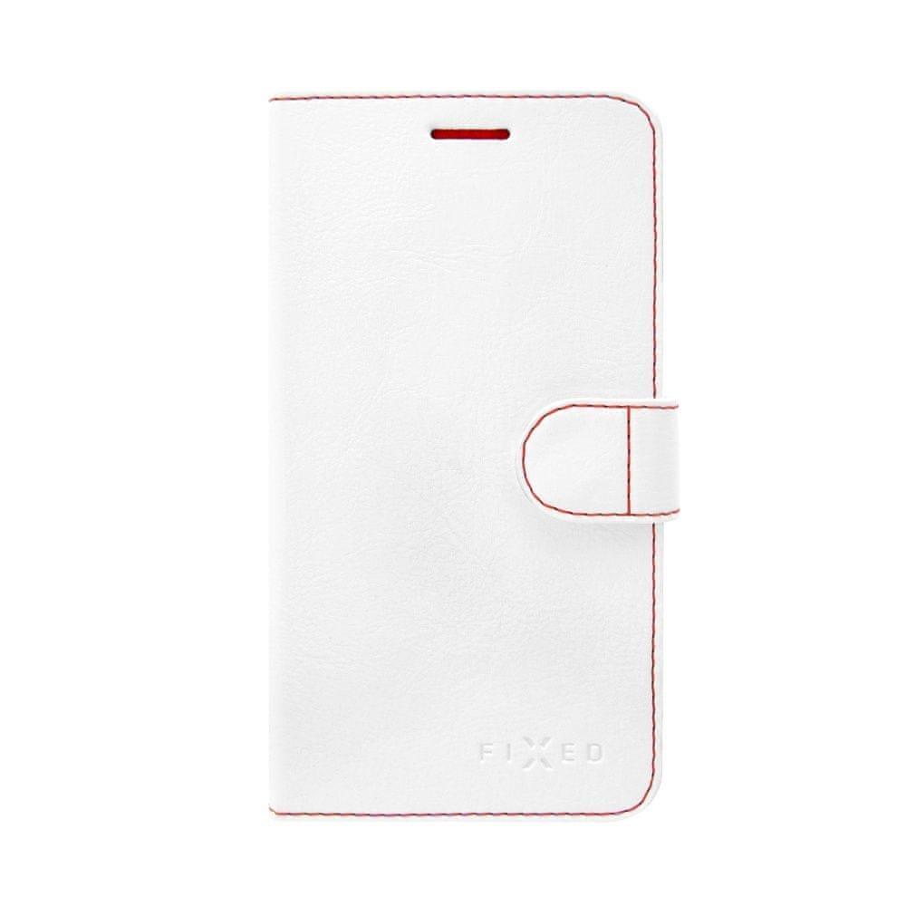 Fixed flipové pouzdro FIT, Lenovo Vibe S1 Lite, bílé